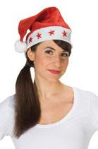 Weihnachtsmütze blinkend
