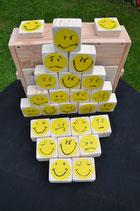 """""""Smiley Memo 3®"""" Natur (Holzmemory, auch für draußen)me"""