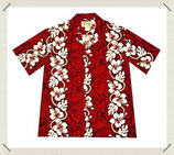 Hawaiihemd Hibiskus Leii
