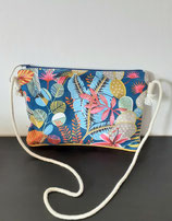 Pochette lin jungle