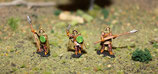 WOOD ELF RANGERS WITH SWORDS AND SPEARS - RANGERS ELFES DES BOIS LANCIERS ET EPEISTES