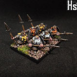 Dwarf Spear Regiment - Regiment de Lanciers Nains
