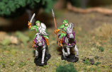 WOOD ELF HEAVY CAVALRY ON HORSES - CAVALERIE LOURDE ELFE DES BOIS A CHEVAL