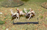 WOOD ELF LIGHT CAVALRY ON ELKS - CAVALERIE LEGERE ELFE DES BOIS SUR CERFS