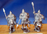 ROMANO BRITISH HEAVY CAVALRY SPEARS (BARDED HORSES)-LANCIERS CAVALERIE LOURDE (CARAPACON) BRITTO-ROMAINS