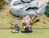 TROLL WARRIOR AND GOBLIN SHAMAN - GUERRIER TROLL ET CHAMANE GOBELIN