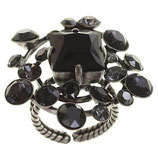 Hera Ring schwarz