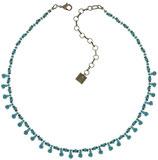 Kaleidoscopic Halskette blau