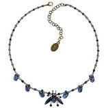 Flower Zumzum Halskette dunkelblau