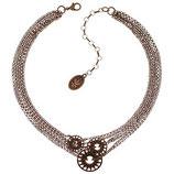 Rosone Halskette rosegold