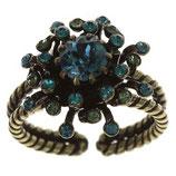 Petit Four De Fleur Ring blau