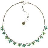 Kaleidoscopic Halskette grün