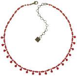 Kaleidoscopic Halskette rot