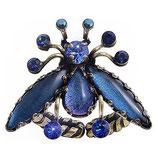 Flower Zumzum Ring dunkelblau