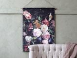 Stoffbild Blumen 97 x 76 cm