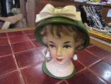 9-07   お人形ヘッド花器イギリス買付