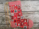 Nikolaussocke in Rot
