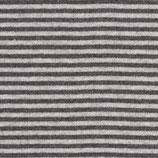 50cm Ringel-Bündchen in grau