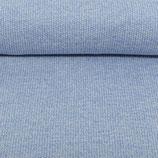 Weicher Strickstoff blau