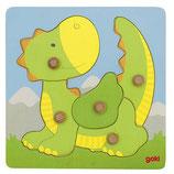 Puzzle en bois petit dragon