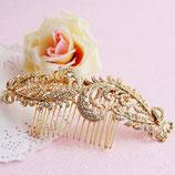 Peigne Romantique dorée