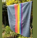 Minidecke Regenbogen 100x95cm