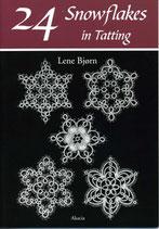 『24 Snowflakes in Tatting   / 24 スノーフレーク・イン・タティング』