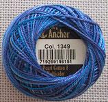 anchor パールコットンマルチカラー#8 1349