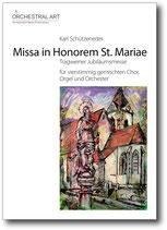 Missa in Honorem St. Mariae - Karl Schützeneder
