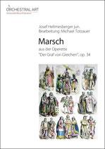 """Marsch aus der Operette:      """"Der Graf von Gleichen"""""""