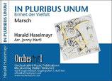 In Pluribus Unum  -  Einheit in der Vielfalt  - Harald Haselmayr