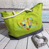 Strandtasche groß - Ich liebe Meer