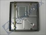 Piastra Elettrica Ribaltabile 2500W 400V Dimensioni 300x300 mm