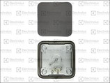 Piastra Elettrica 2600W 440V Dimensioni 220x220 mm