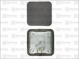 Piastra Elettrica 2600W 400V Dimensioni 220x220 mm