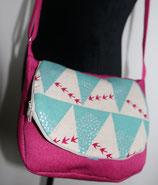 Tasche Schwalben pink