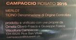 Campaccio Rosato 2016