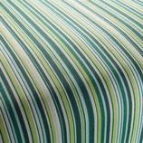PIAZETTA*Outdoor Meterware Stoff grün weiss Streifen fein Chivasso