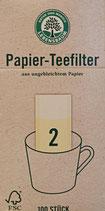 Teefilter Papier  1 Packung