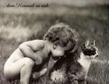 "Postkarte 04 ""Victoria und Madita - ...dem Himmel so nah"""