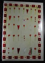 Doppelkarte Verliebte von Silke Leffler