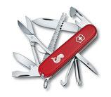Victorinox Offiziersmesser Fisherman rot - Taschenmesser / Klappmesser