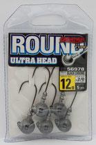 Owner Round Ultra Head Jig 28BC- Rundkopf-Jighaken