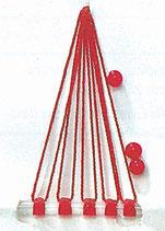 Stucki Thun Schnurstopper / Perlen - Textilstopper