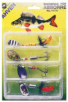 Red Eye Super Perch Set - Spinner-Kit Barsch