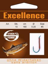 Stucki Excellence Vorfach m. Haken ohne Widerhaken 180 - Sbirolino Angel-Vorfach