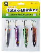 "Red Eye Pro Lure Kit ""Toby-Spoons"" - Blinker Set Hecht & Forelle"