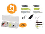 Savagegear Mini Perch Dropshot & Jig Kit - 21pcs