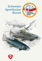 Schweizer Sportfischer Brevet und Sana Prüfung Lehrmittel