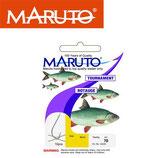 Maruto Tournament Rotauge - montierte Angelhaken Gr. 18